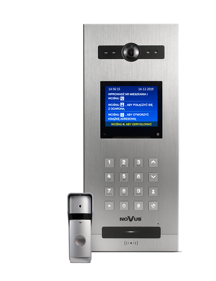 Nowe wideodomofony serii NVE, Video intercom 200