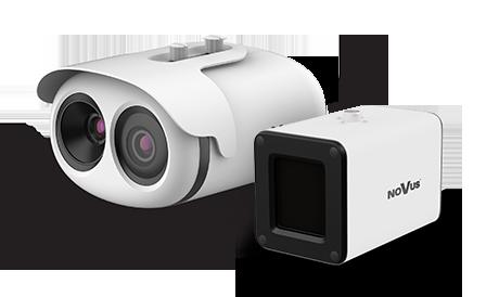 Kamera termowizyjna do zdalnego pomiaru temperatury ciała NVIP-2H-8912M/TS - zestaw
